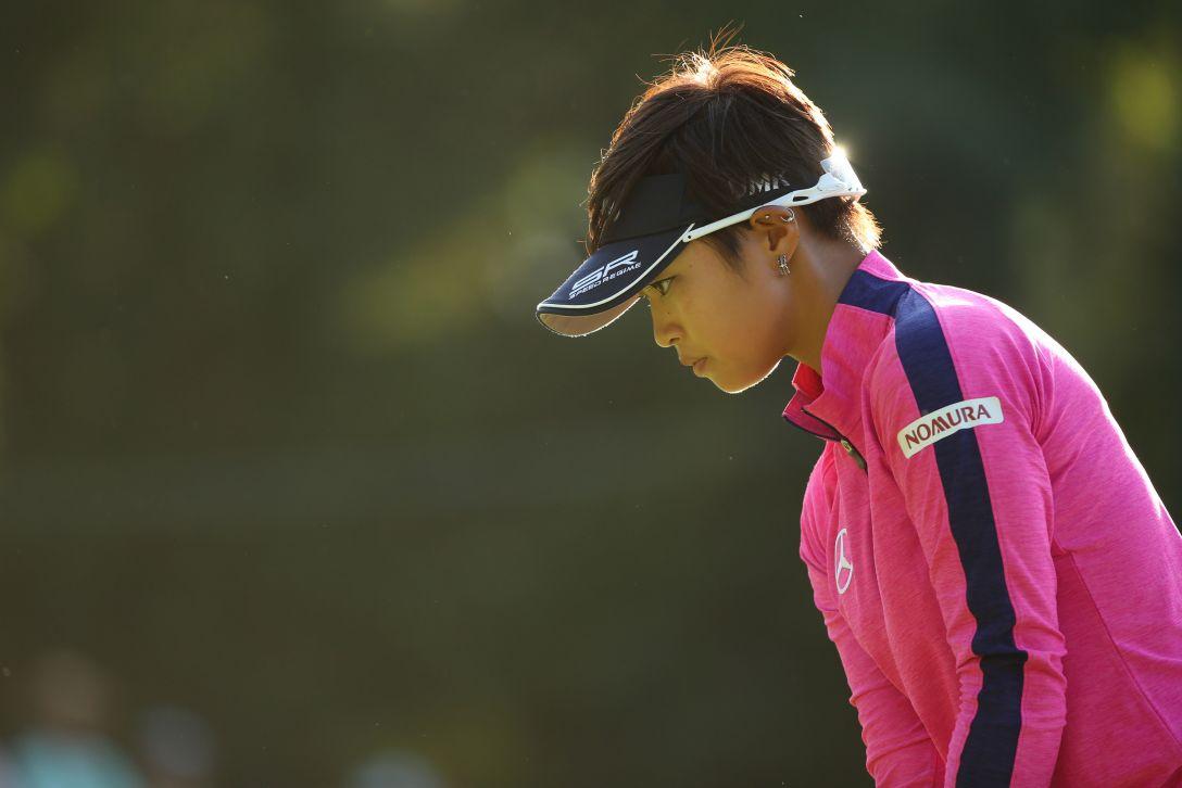 日本女子オープンゴルフ選手権 3日目 柏原明日架 <写真:Atsushi Tomura/Getty Images>