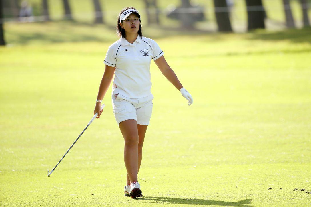 日本女子オープンゴルフ選手権 2日目 ささきしょうこ<写真:Atsushi Tomura/Getty Images>