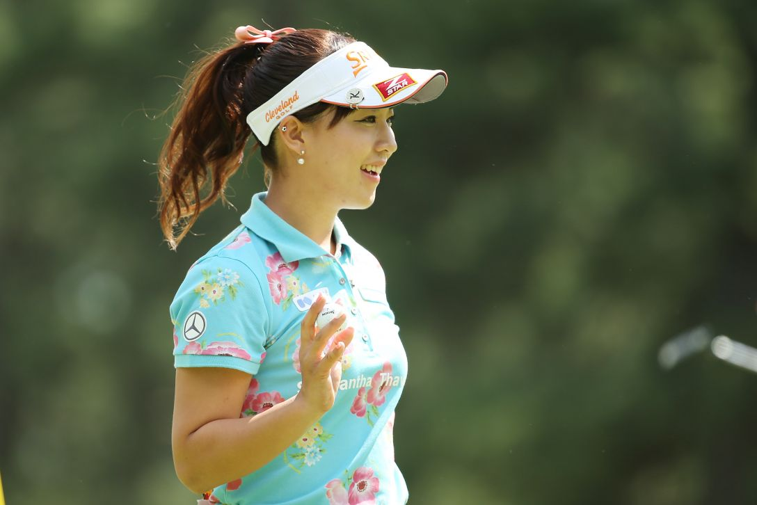 日本女子オープンゴルフ選手権 3日目 香妻琴乃 <写真:Atsushi Tomura/Getty Images>