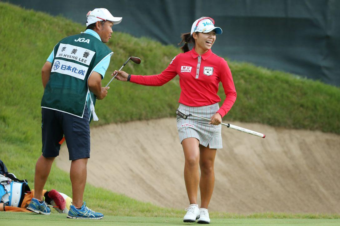 日本女子オープンゴルフ選手権 最終日 李美香<写真:Atsushi Tomura/Getty Images>