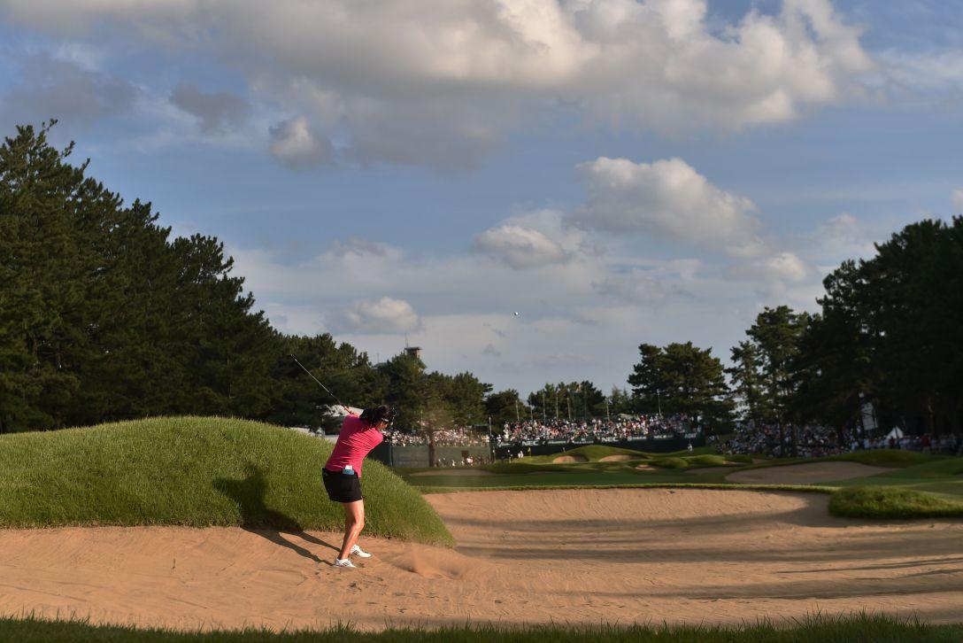 日本女子オープンゴルフ選手権 3日目 ユソヨン<写真:Atsushi Tomura/Getty Images>