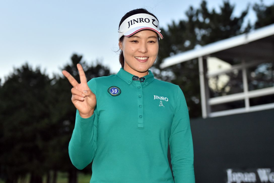 日本女子オープンゴルフ選手権 最終日 チョンインジ<写真:Atsushi Tomura/Getty Images>