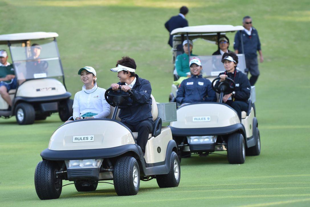 日本女子オープンゴルフ選手権 最終日 菊地絵理香<写真:Atsushi Tomura/Getty Images>