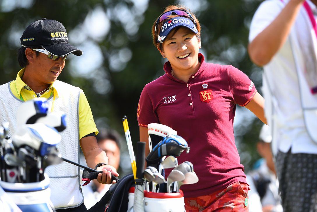 スタンレーレディスゴルフトーナメント 1日目 成田美寿々<写真:Masterpress/Getty Images>