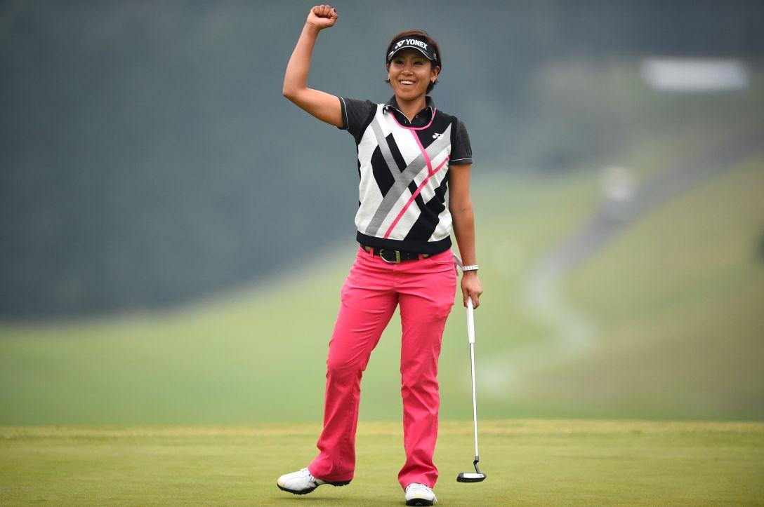 スタンレーレディスゴルフトーナメント 2日目 若林 舞衣子<写真:Masterpress/Getty Images>