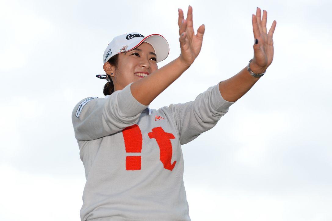 スタンレーレディスゴルフトーナメント 最終日 イ ボミ<写真:Masterpress/Getty Images>