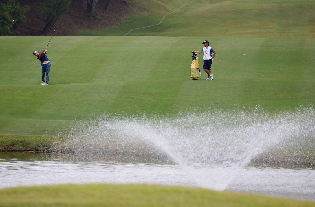 マスターズGCレディース 1日目 成田美寿々<写真:Chung Sung-Jun/Getty Images>