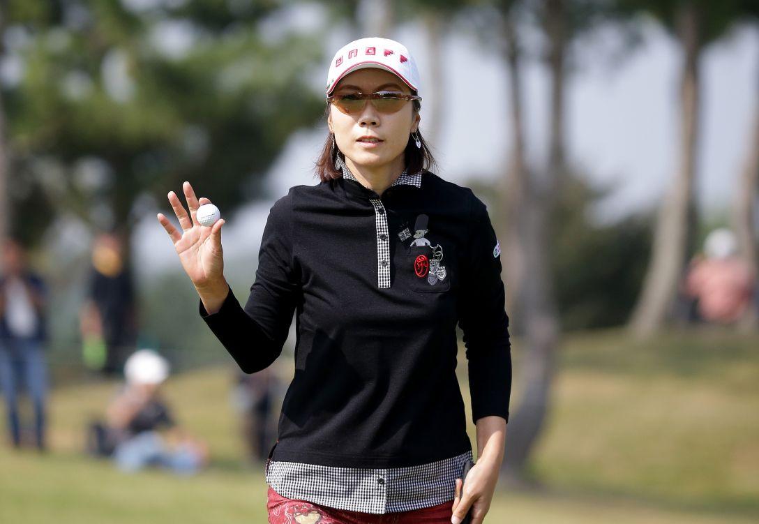マスターズGCレディース 3日目 李知姫<写真:Chung Sung-Jun/Getty Images>