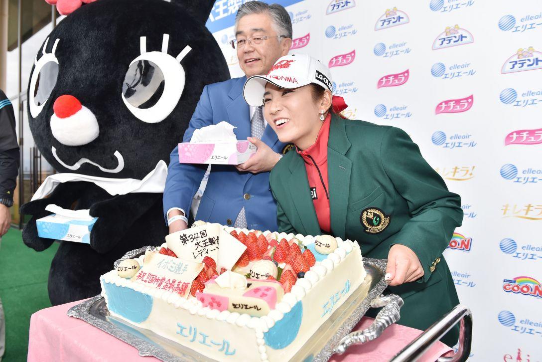 大王製紙エリエールレディス 最終日 イボミ<写真:Atsushi Tomura /Getty Images>