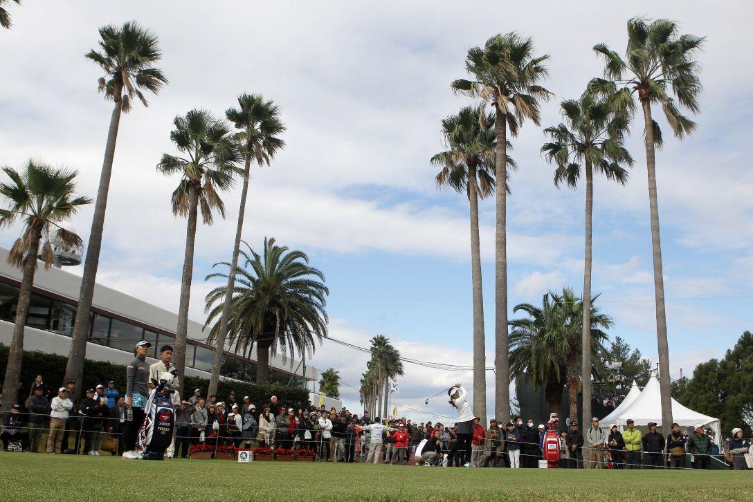 LPGAツアーチャンピオンシップリコーカップ 1日目 イボミ、テレサ・ルー<写真:Chung Sung-Jun/Getty Images>
