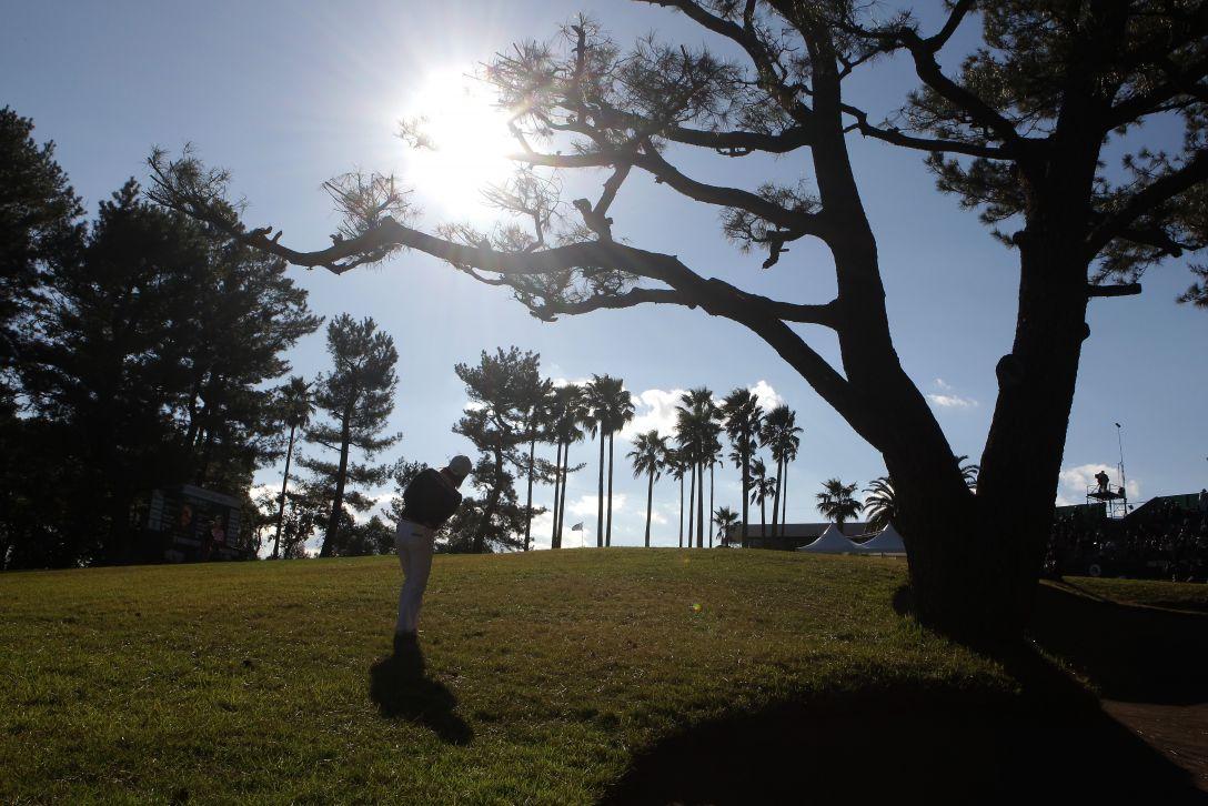 LPGAツアーチャンピオンシップリコーカップ 2日目 原江里菜<写真:Chung Sung-Jun/Getty Images>