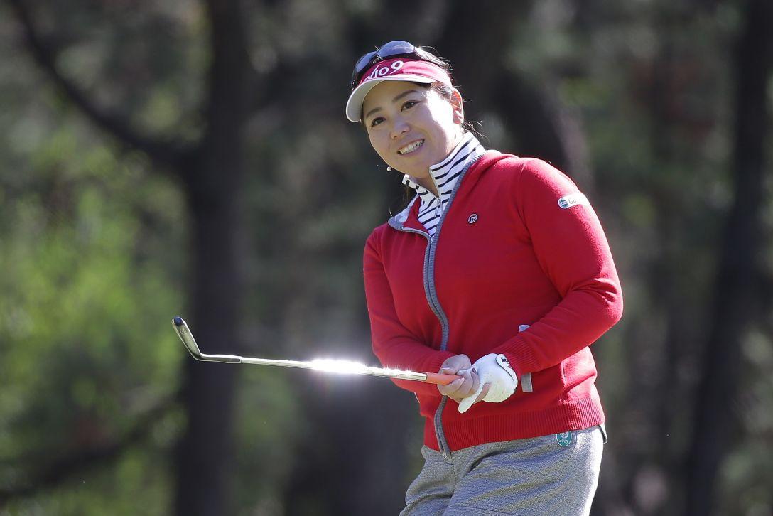 LPGAツアーチャンピオンシップリコーカップ 2日目 吉田弓美子<写真:Chung Sung-Jun/Getty Images>