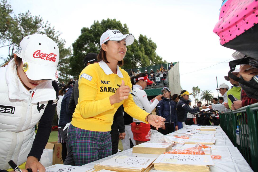 LPGAツアーチャンピオンシップリコーカップ 3日目 原 江里菜