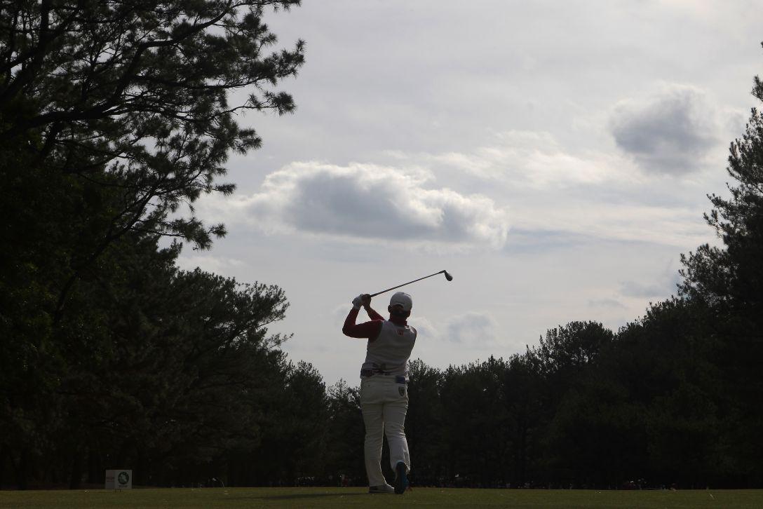 LPGAツアーチャンピオンシップリコーカップ 3日目 申ジエ<写真:Chung Sung-Jun/Getty Images>