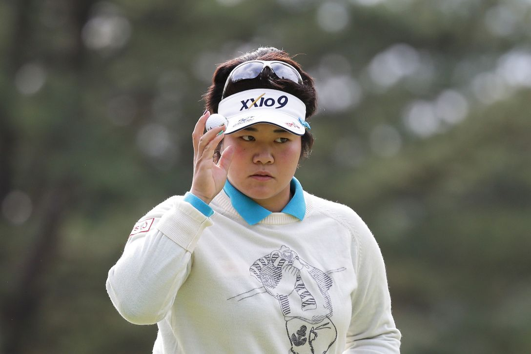 LPGAツアーチャンピオンシップリコーカップ 3日目 酒井美紀<写真:Chung Sung-Jun/Getty Images>
