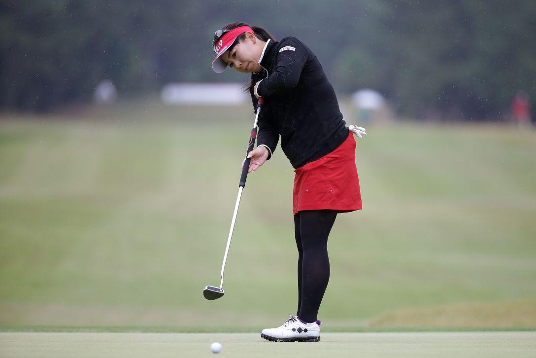 LPGAツアーチャンピオンシップリコーカップ 最終日 吉田 弓美子 <写真:Chung Sung-Jun/Getty Images>