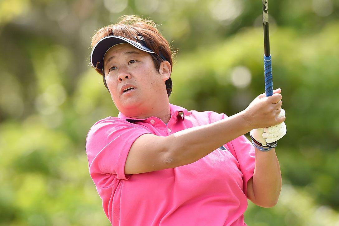 ダイキンオーキッドレディスゴルフトーナメント 2日目 表 純子<Photo:Atsushi Tomura/Getty Images>