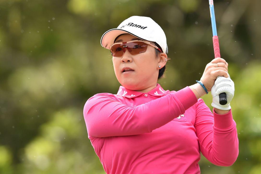 ダイキンオーキッドレディスゴルフトーナメント 2日目 申ジエ<Photo:Atsushi Tomura/Getty Images>