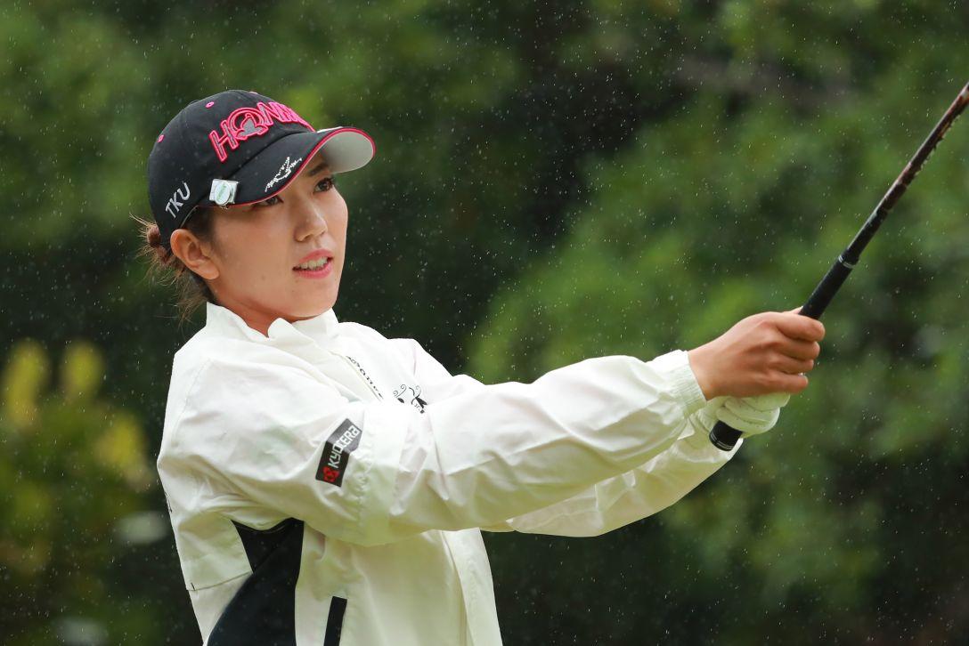 ダイキンオーキッドレディスゴルフトーナメント 3日目 笠 りつ子 <Photo:Atsushi Tomura/Getty Images>