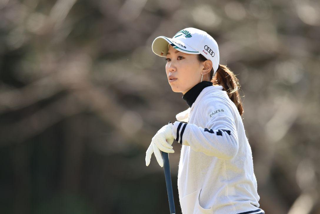 ヨコハマタイヤゴルフトーナメントPRGRレディスカップ 1日目 上田 桃子 <Photo:Atsushi Tomura/Getty images>