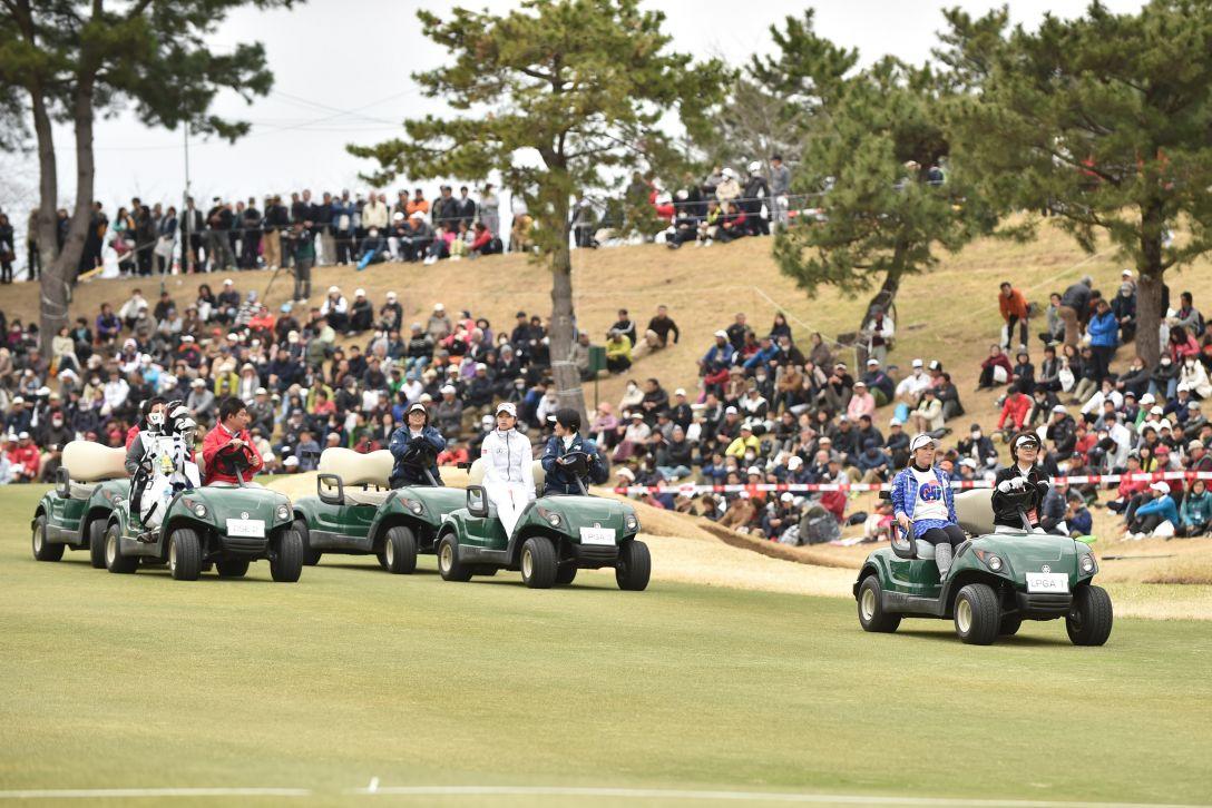 ヨコハマタイヤゴルフトーナメントPRGRレディスカップ 最終日 <Photo:Atsushi Tomura/Getty images>