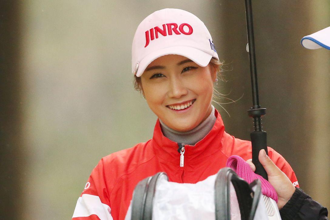 Tポイントレディス ゴルフトーナメント 1日目 キムハヌル<Photo:Atsushi Tomura/Getty images>