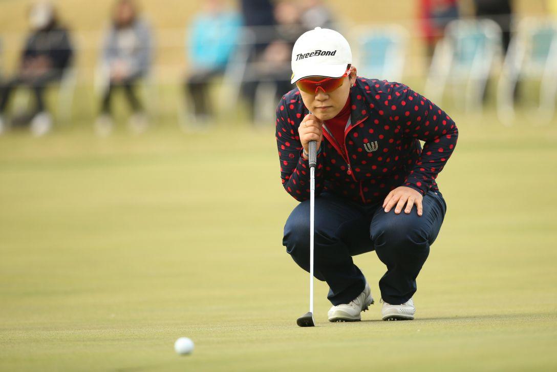 アクサレディスゴルフトーナメント 1日目 申 ジエ <Photo:Atsushi Tomura/Getty Images>