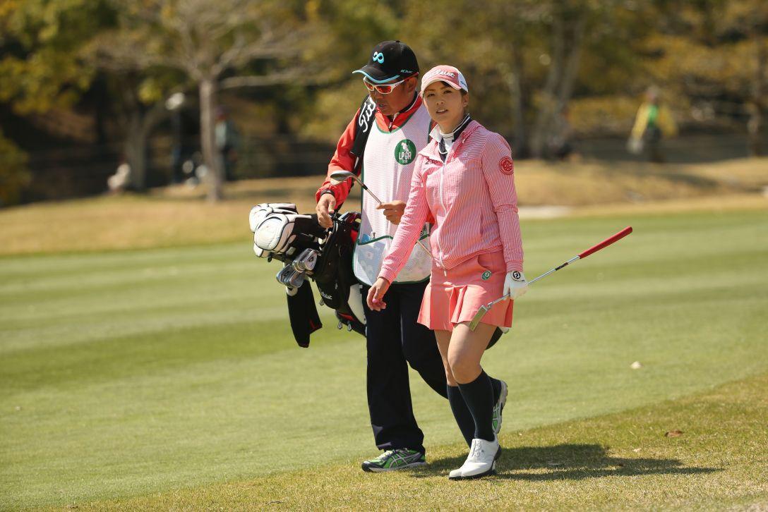 アクサレディスゴルフトーナメント 2日目 菊地 絵理香 <Photo:Atsushi Tomura/Getty Images>