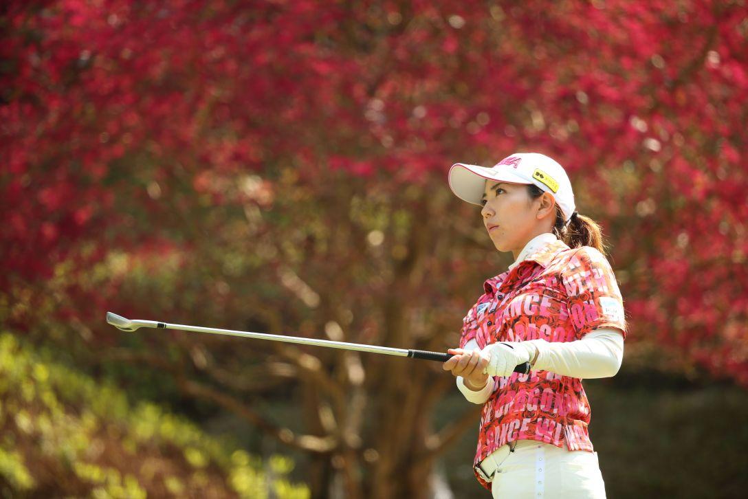 アクサレディスゴルフトーナメント 最終日 笠 りつ子 <Photo:Atsushi Tomura/Getty images>