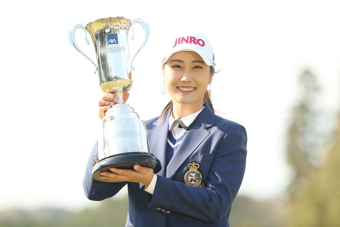 アクサレディスゴルフトーナメント 最終日 キムハヌル <Photo:Atsushi Tomura/Getty images>