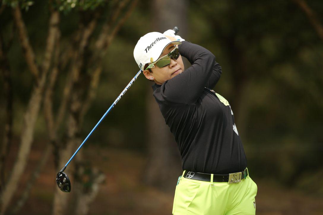 アクサレディスゴルフトーナメント 最終日 申 ジエ <Photo:Atsushi Tomura/Getty images>