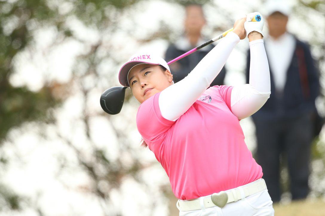 アクサレディスゴルフトーナメント 最終日 アン ソンジュ  <Photo:Atsushi Tomura/Getty images>