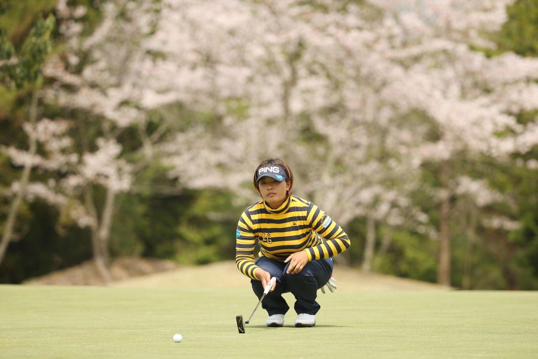 スタジオアリス女子オープン 2日目 鈴木 愛 <Photo:Atsushi Tomura/Getty images>