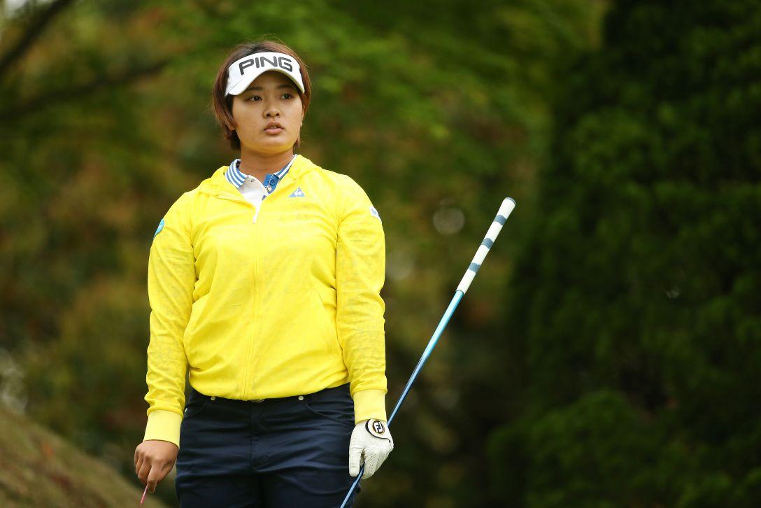 サイバーエージェント レディスゴルフトーナメント 1日目 鈴木 愛 <Photo:Atsushi Tomura/Getty Images>