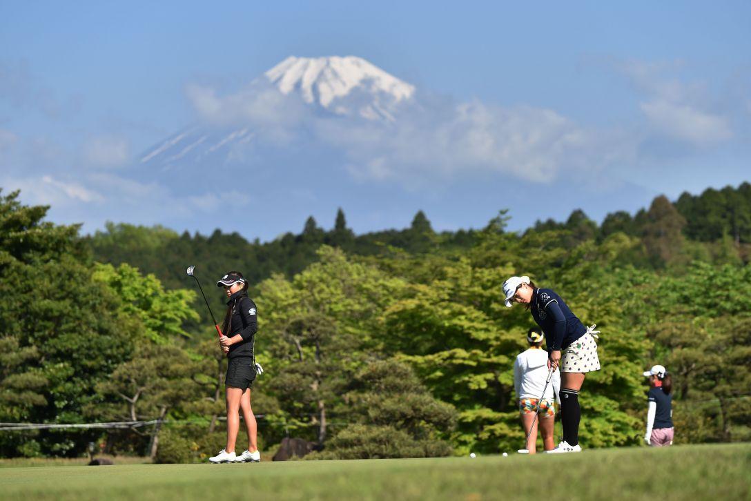 サイバーエージェント レディスゴルフトーナメント 2日目 <Photo:Atsushi Tomura/Getty Images>