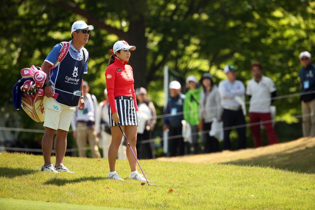 サイバーエージェント レディスゴルフトーナメント 2日目 イ ボミ <Photo:Atsushi Tomura/Getty Images>