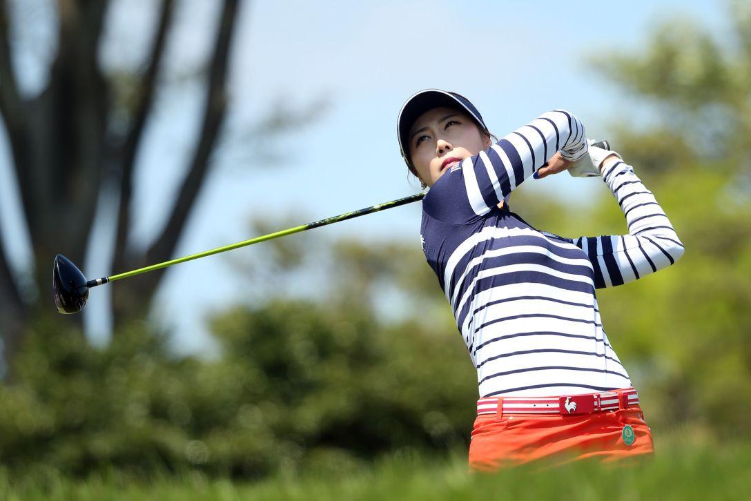 サイバーエージェント レディスゴルフトーナメント 2日目 キム ハヌル <Photo:Atsushi Tomura/Getty Images>