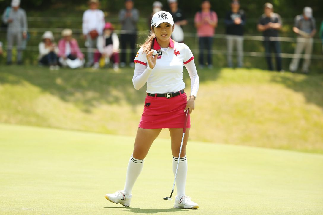 サイバーエージェント レディスゴルフトーナメント 最終日 イ ボミ <Photo:Atsushi Tomura/Getty Images>