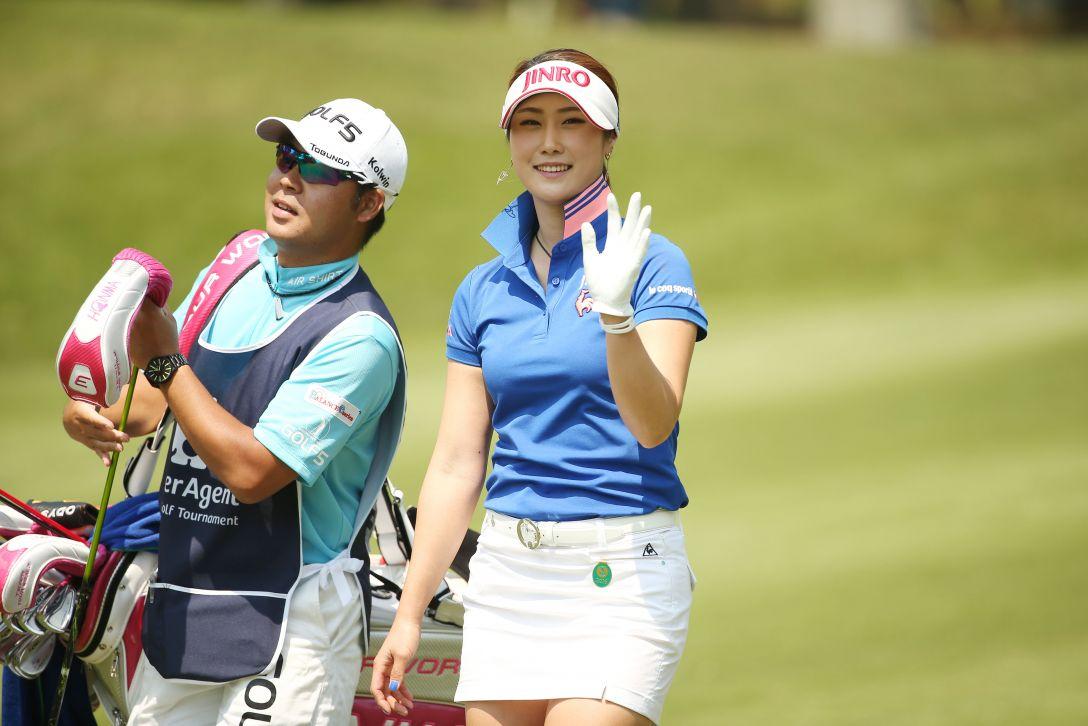 サイバーエージェント レディスゴルフトーナメント 最終日 キム ハヌル <Photo:Atsushi Tomura/Getty Images>