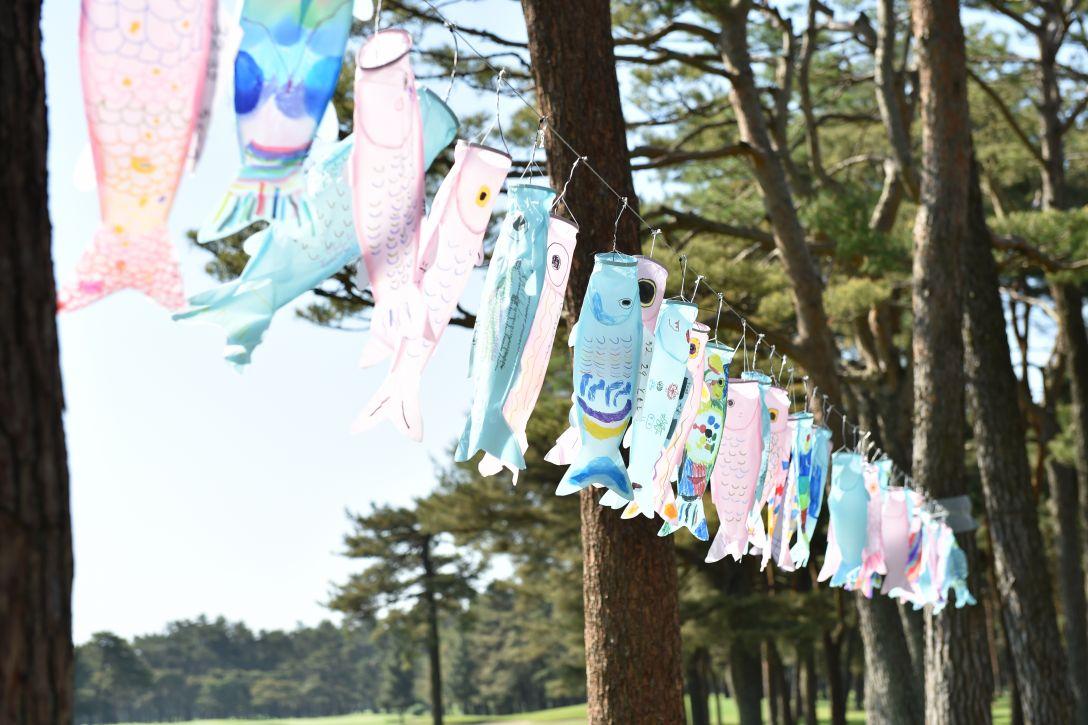 ワールドレディスサロンパスカップ 1日目 こいのぼり<Photo:Atsushi Tomura/Getty Images>