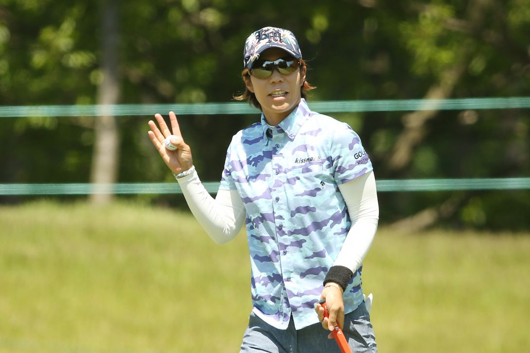 ヨネックスレディスゴルフトーナメント 1日目 穴井詩 <Photo:Atsushi Tomura/Getty Images>