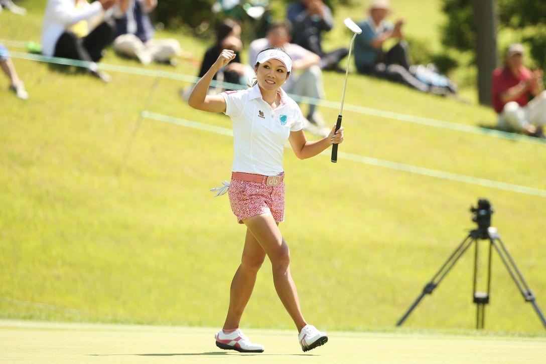 ヨネックスレディスゴルフトーナメント 1日目 P.チュティチャイ <Photo:Atsushi Tomura/Getty Images>