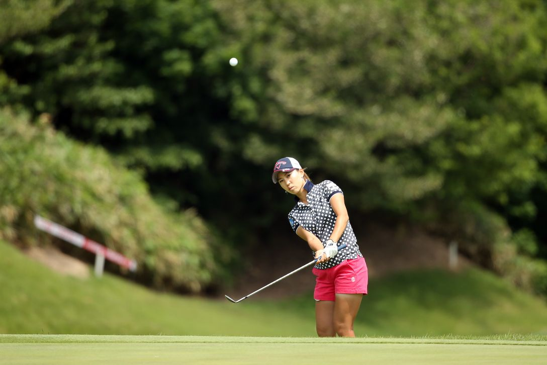 ヨネックスレディスゴルフトーナメント 2日目 上田桃子 <Photo:Atsushi Tomura/Getty Images>