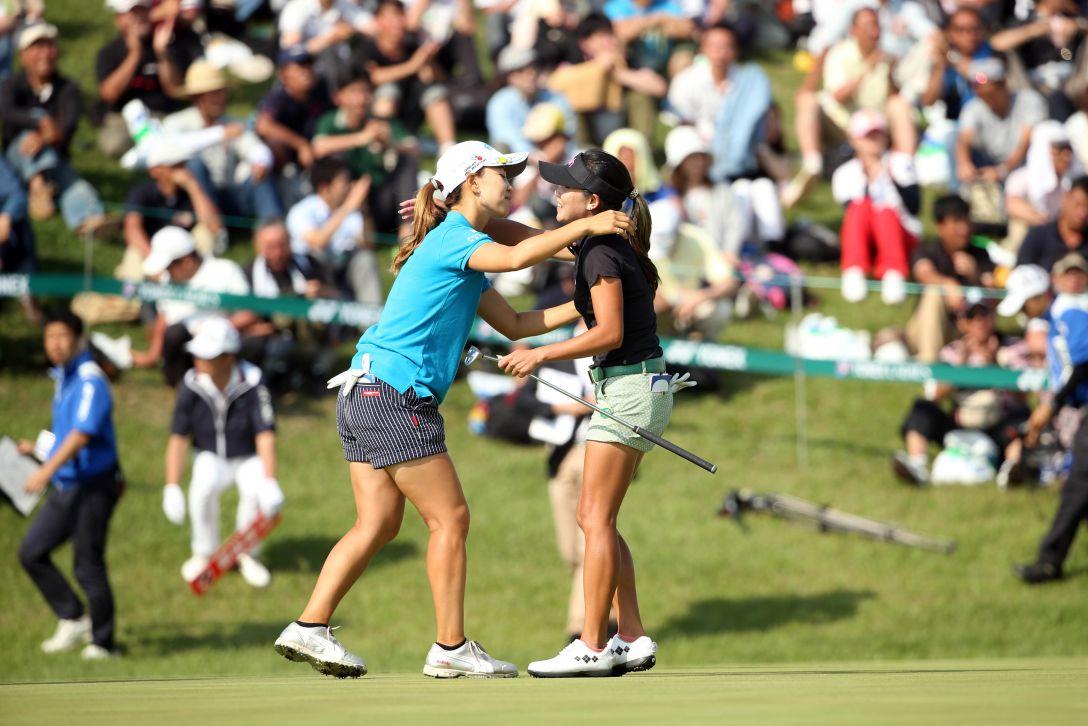 ヨネックスレディスゴルフトーナメント 最終日 P.チュティチャイ <Photo:Atsushi Tomura/Getty Images>