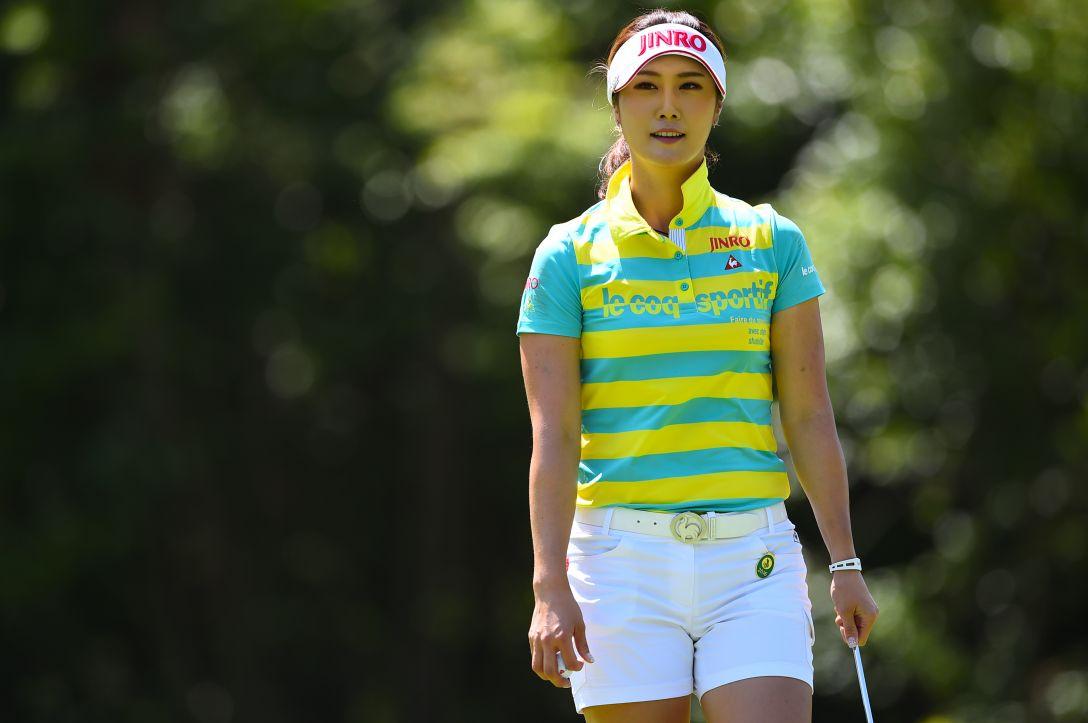 サントリーレディスオープンゴルフトーナメント 2日目 キムハヌル <Photo:Masterpress/Getty Images>