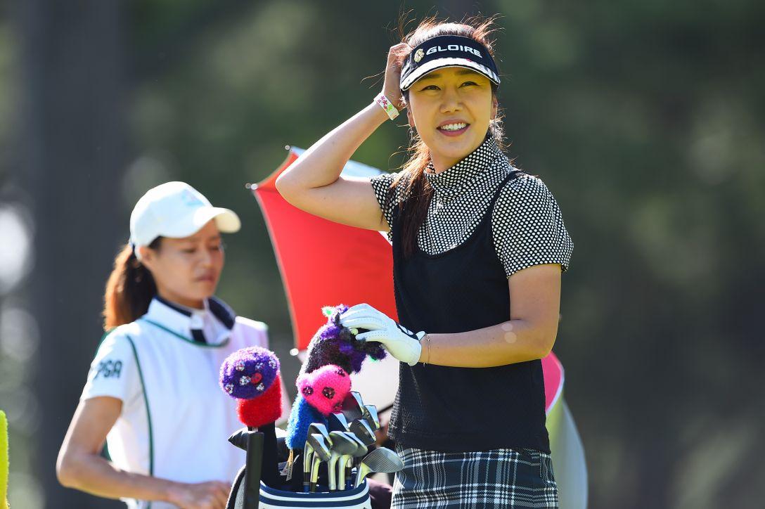 サントリーレディスオープンゴルフトーナメント 2日目 姜秀衍 <Photo:Masterpress/Getty Images>