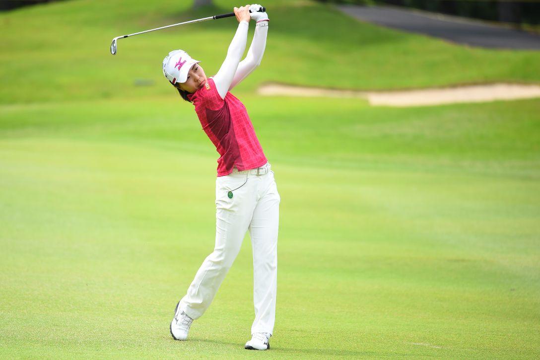 サントリーレディスオープンゴルフトーナメント 3日目 服部 真夕 <Photo:Masterpress/Getty Images>