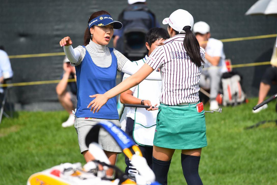 サントリーレディスオープンゴルフトーナメント 3日目 姜秀衍 <Photo:Masterpress/Getty Images>