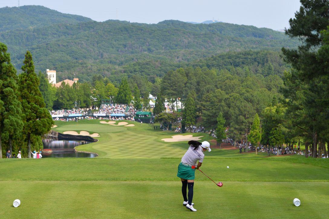 サントリーレディスオープンゴルフトーナメント 3日目 堀 琴音 <Photo:Masterpress/Getty Images>