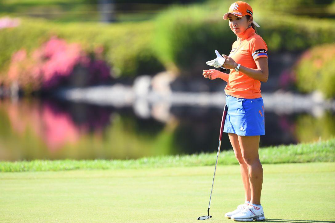 サントリーレディスオープンゴルフトーナメント 2日目 イボミ <Photo:Masterpress/Getty Images>